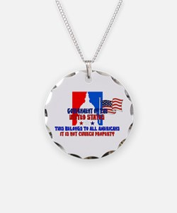 Not Church Property Necklace