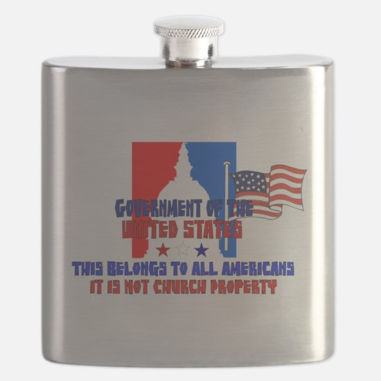 Not Church Property Flask