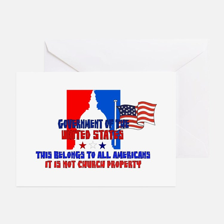 Not Church Property Greeting Cards (Pk of 20)