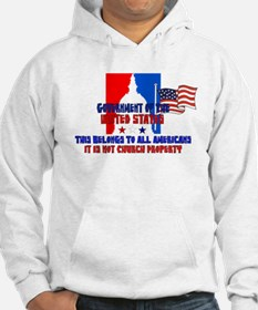 Not Church Property Hoodie
