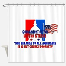 Not Church Property Shower Curtain
