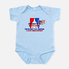 Not Church Property Infant Bodysuit