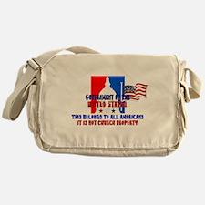 Not Church Property Messenger Bag