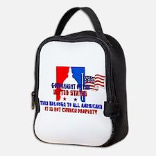Not Church Property Neoprene Lunch Bag