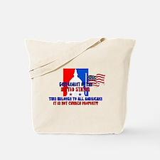 Not Church Property Tote Bag