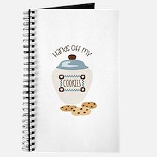 Hands Of My Cookies Journal