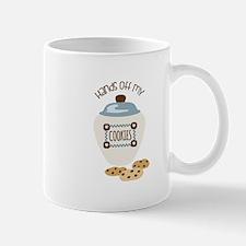 Hands Of My Cookies Mugs
