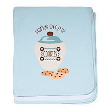 Hands Of My Cookies baby blanket