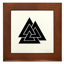 Valknut Framed Tile