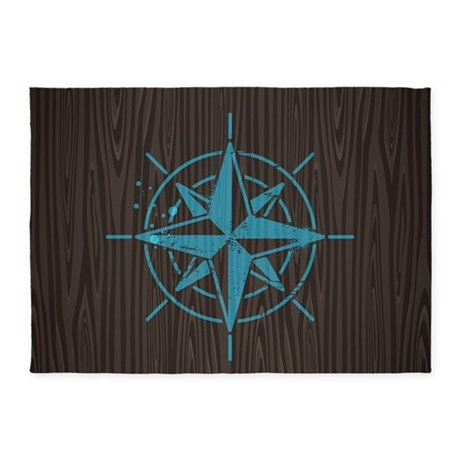Nautical 5'x7'area Rug