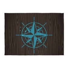 Nautical 5'x7'area Rug