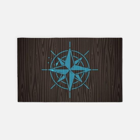 Nautical 3'x5' Area Rug