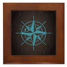 Nautical Framed Tile