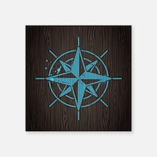 "Nautical Square Sticker 3"" x 3"""