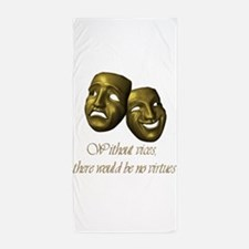 Without Vices Beach Towel