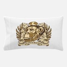 Grunge Chimpanzee Pillow Case