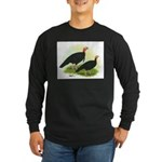 Black Turkeys Long Sleeve Dark T-Shirt