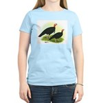 Black Turkeys Women's Light T-Shirt