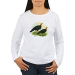 Black Turkeys Women's Long Sleeve T-Shirt