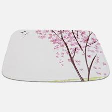 Tree In Spring Bathmat