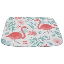 Pink Flamingos Bathmat