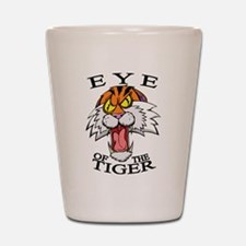 Eye of the Tiger Shot Glass