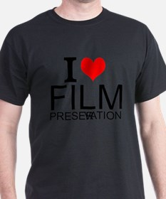 I Love Film Preservation T-Shirt