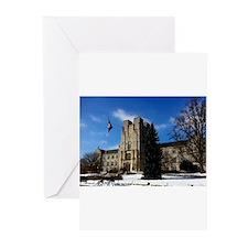 Virginia Tech Campus Greeting Cards