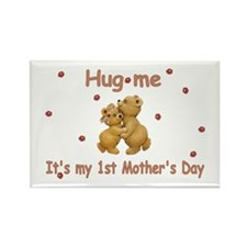 My 1st Mother's Day Rectangle Magnet