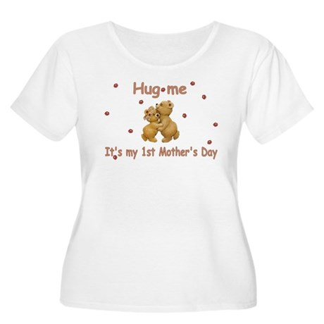 My 1st Mother's Day Women's Plus Size Scoop Neck T
