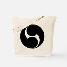 Two counterclockwise swirls Tote Bag