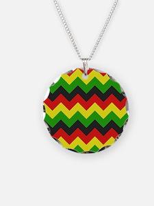 Reggae Chevron Necklace