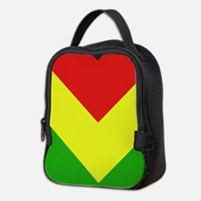 Reggae Chevron Neoprene Lunch Bag