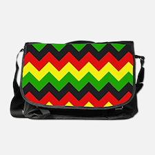 Reggae Chevron Messenger Bag