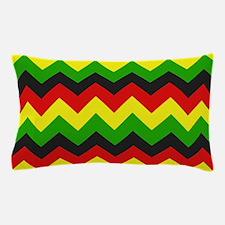 Reggae Chevron Pillow Case
