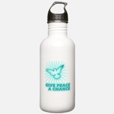 Give Peace a Chance Water Bottle