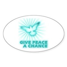 Give Peace a Chance Decal
