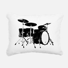 Drums Rectangular Canvas Pillow