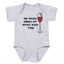 Mommys Wine Time Baby Bodysuit