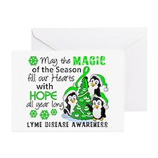 Lyme Disease Christmas P Greeting Cards (Pk of 20)