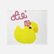 Lil Duck Throw Blanket