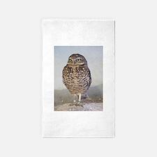 Burrowing owl 3'x5' Area Rug