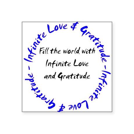 inflovegrattshirt2b Sticker