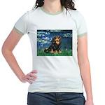 Lilies #5-Cavalier (BT) Jr. Ringer T-Shirt