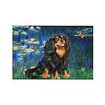 Lilies #5-Cavalier (BT) Rectangle Magnet (10 pack)