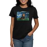 Lilies #5-Cavalier (BT) Women's Dark T-Shirt