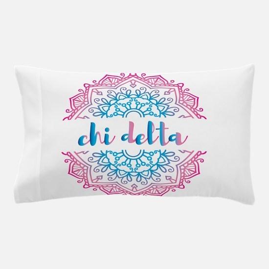 Chi Delta Mandala Pillow Case