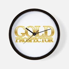 I'm a Gold Prospector Wall Clock