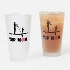 SUP Mom Color Drinking Glass