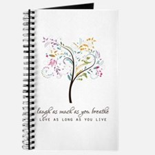 Laugh As Much As You Breathe Journal